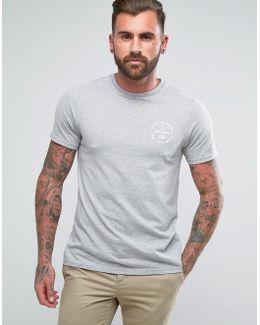 Lundy Slim Fit Logo T-shirt Gray