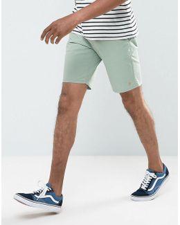 Hawk Chino Short In Green