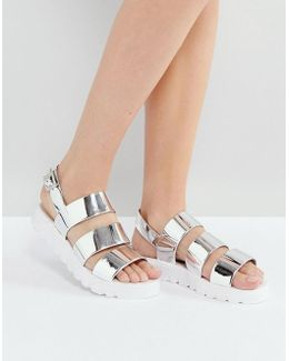 Frou Jelly Flat Sandals