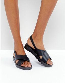 Freda Jelly Flat Sandals