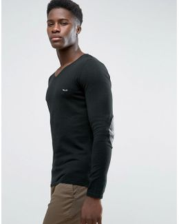 Fitted V Neck Soft Feel Knitwear