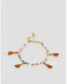 Tassel Bead Friendship Bracelet