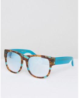 Jade Tortoiseshell Sunglasses With Tinted Lense