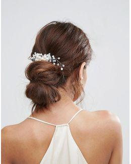 Wedding Faux Pearl Hair Clip