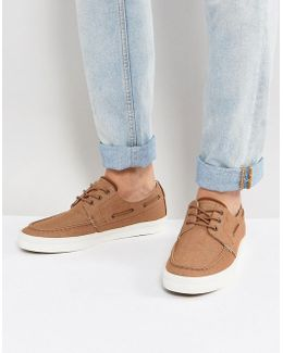 Martel Canvas Boat Shoes