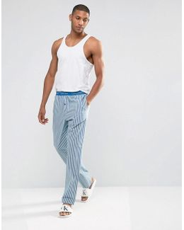 Woven Lounge Pants In Regular Fit