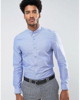 Oxford Plain Slim Fit Shirt