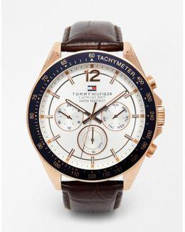 Luke Leather Strap Watch 1791118