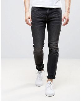 Alessandro Slim Fit Jeans In Cloudy Gray