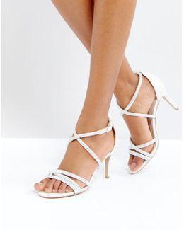 Gravity Embellished Heeled Sandals