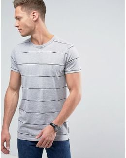Yard Dye Thin Stripe T-shirt