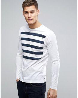 Long Sleeve 5 Stripe Top