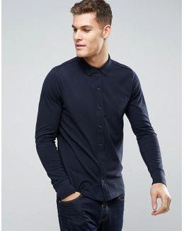 Pique Cotton Shirt