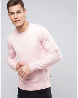 Lightweight Crew Neck Sweater