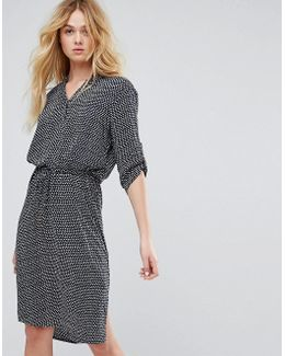 Soaked In Luxruy Printed Shirt Dress