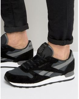 Classic Leather Clip Ele Trainers