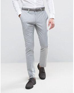 Wedding Skinny Suit Pants