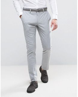 Wedding Skinny Suit Trousers
