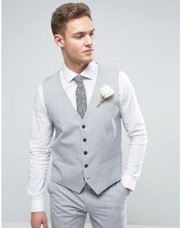Wedding Skinny Vest