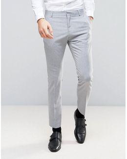 Slim Suit Pant