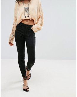 Peyton Jacquard Skinny Jeans