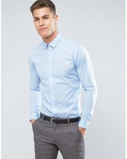 Slim Long Sleeve Smart Shirt