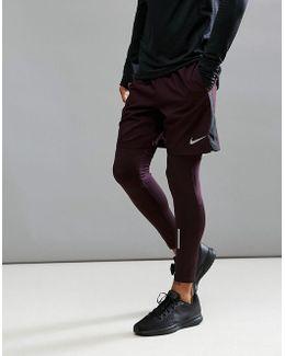 Flex Challenger 7 Shorts In Purple 856838-652