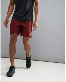 Dri-fit 7 Shorts In Burgundy 885285-619