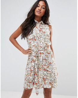 Printed Mini Bodycon Dress