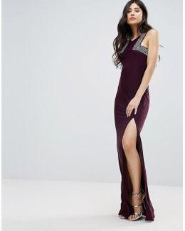 Maxi Dress With Side Split