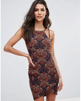 Aysmetric Mini Dress