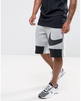 Hybrid Swoosh Shorts In Grey 884914-063