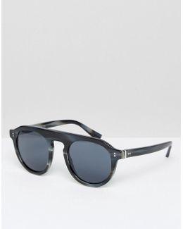 Flat Brow Sunglasses