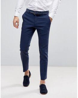 Wedding Skinny Suit Pant In Navy