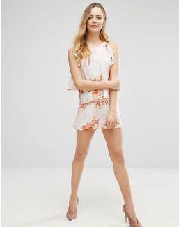 Mink Pink Yoko High Waisted Floral Shorts