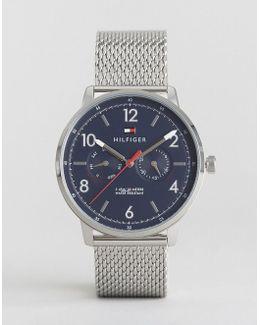 1791354 Silver Mesh Strap Watch