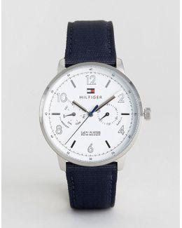 1791358 Navy Nato Strap Watch