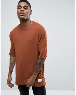 Knitted T-shirt In Relaxed Fit