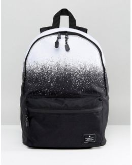 Backpack In Monochrome Ombre Print