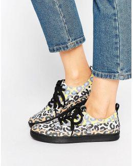 Multi Leopard Sneaker