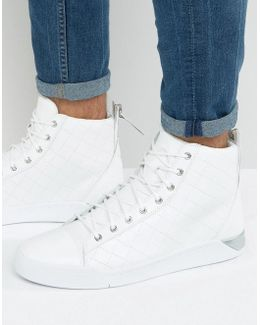 Diamond Outline Sneakers