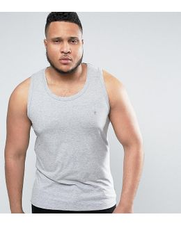 Plus Plain Muscle Fit Tank