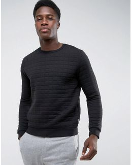 Quilted Sweat Jumper