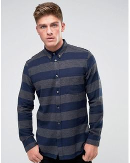 Flannel Striped Shirt
