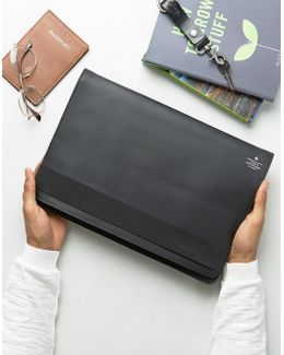 Smart Leather 13 Macbook Case With Foil Emboss