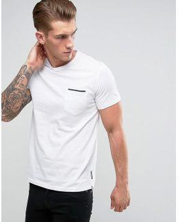Tipped Pocket T-shirt