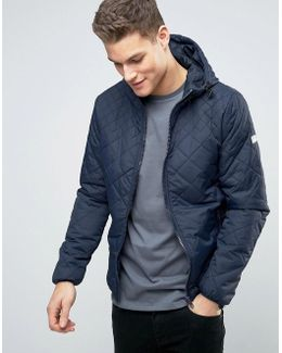 Quilted Hooded Bomber