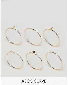 Minimal Sleek Ring Pack
