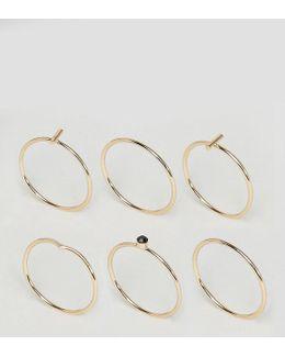 Minimal Sleek Ring Pack