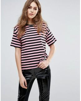 Carnaby Stripe Relaxed Top